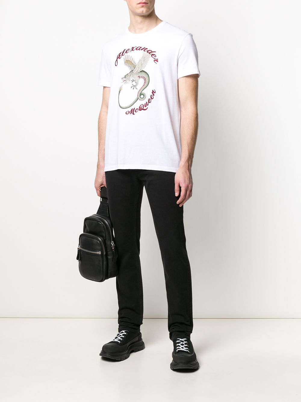 Picture of Alexander Mcqueen | T Shirt Dragon Print