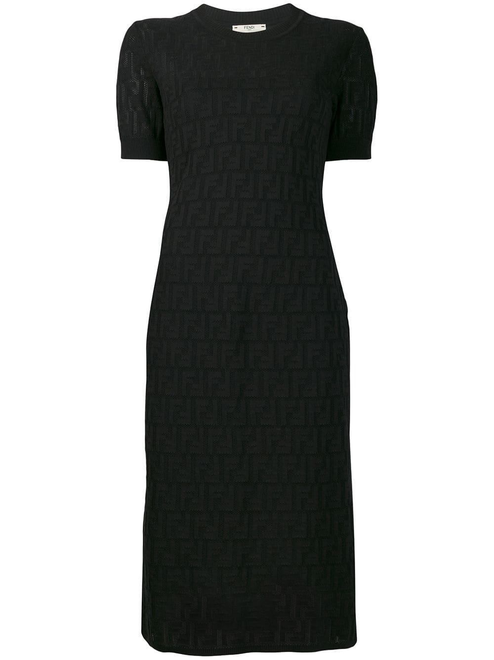 Picture of Fendi | Ff Cotton Dress