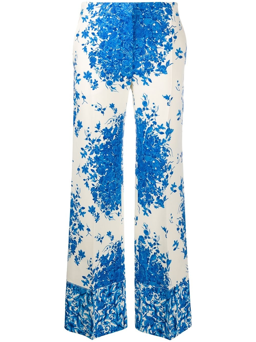 Picture of Valentino | Delft Print Pants