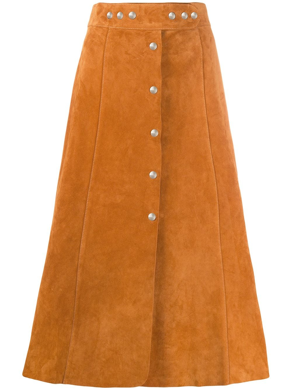 Picture of Prada | Leather Skirt
