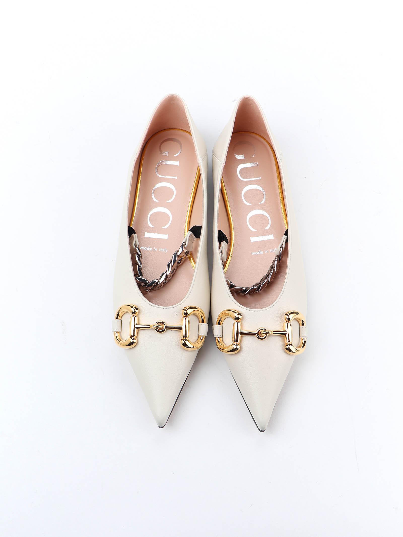 Immagine di Gucci | Flat Ballet W/Horsebit