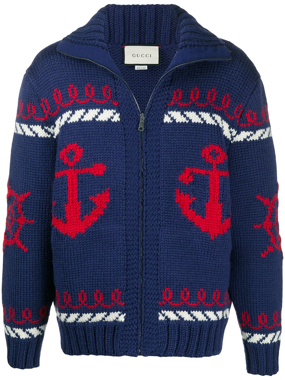 Immagine di Gucci | Knitted Wool Bomber
