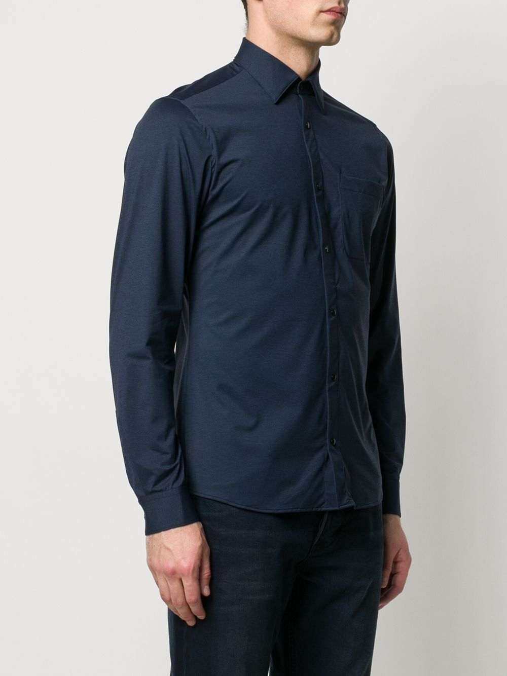 Picture of Z Zegna | Long Sleeve Sport Shirt