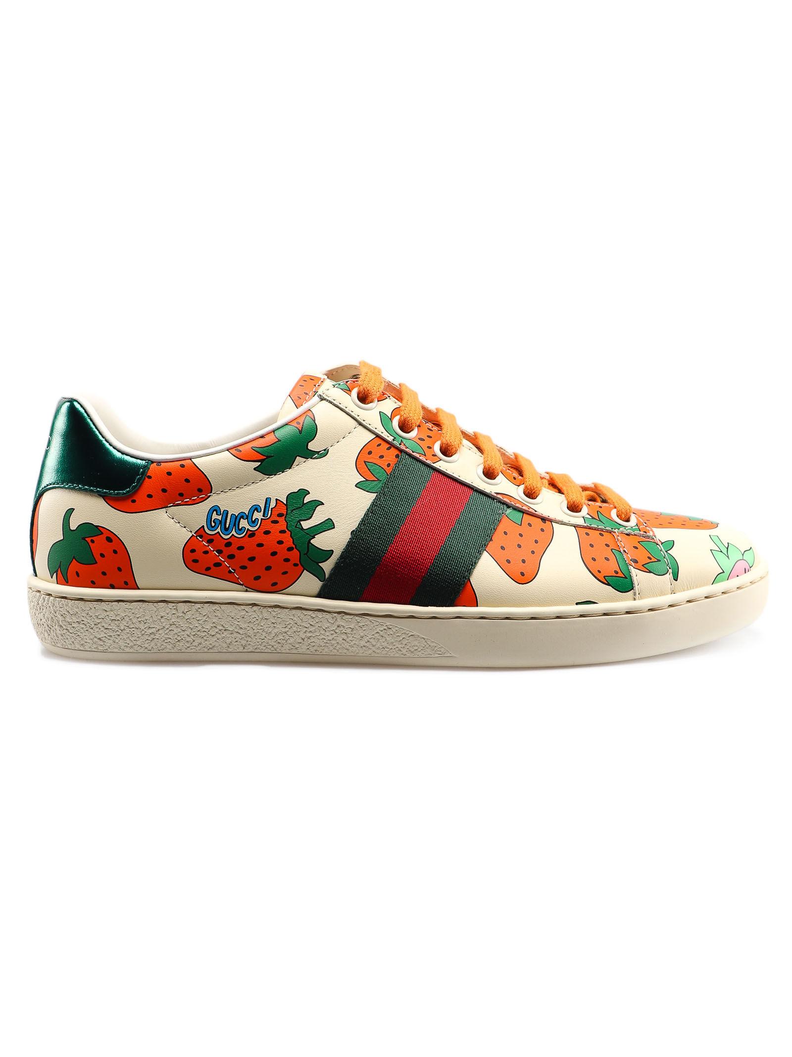 Gucci Sneaker Leather 387993/08L30