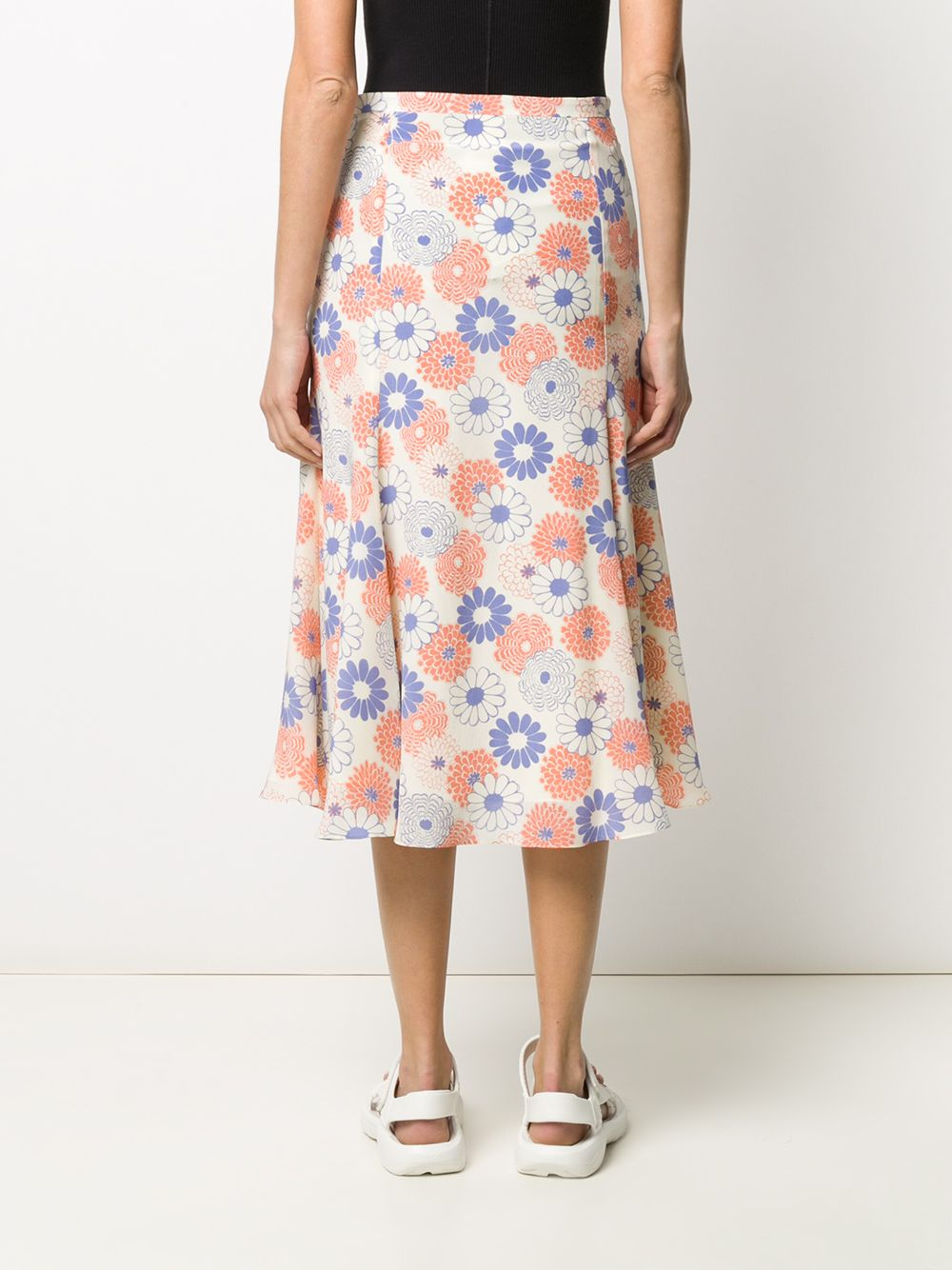 Picture of Kenzo | Smock Midi Skirt