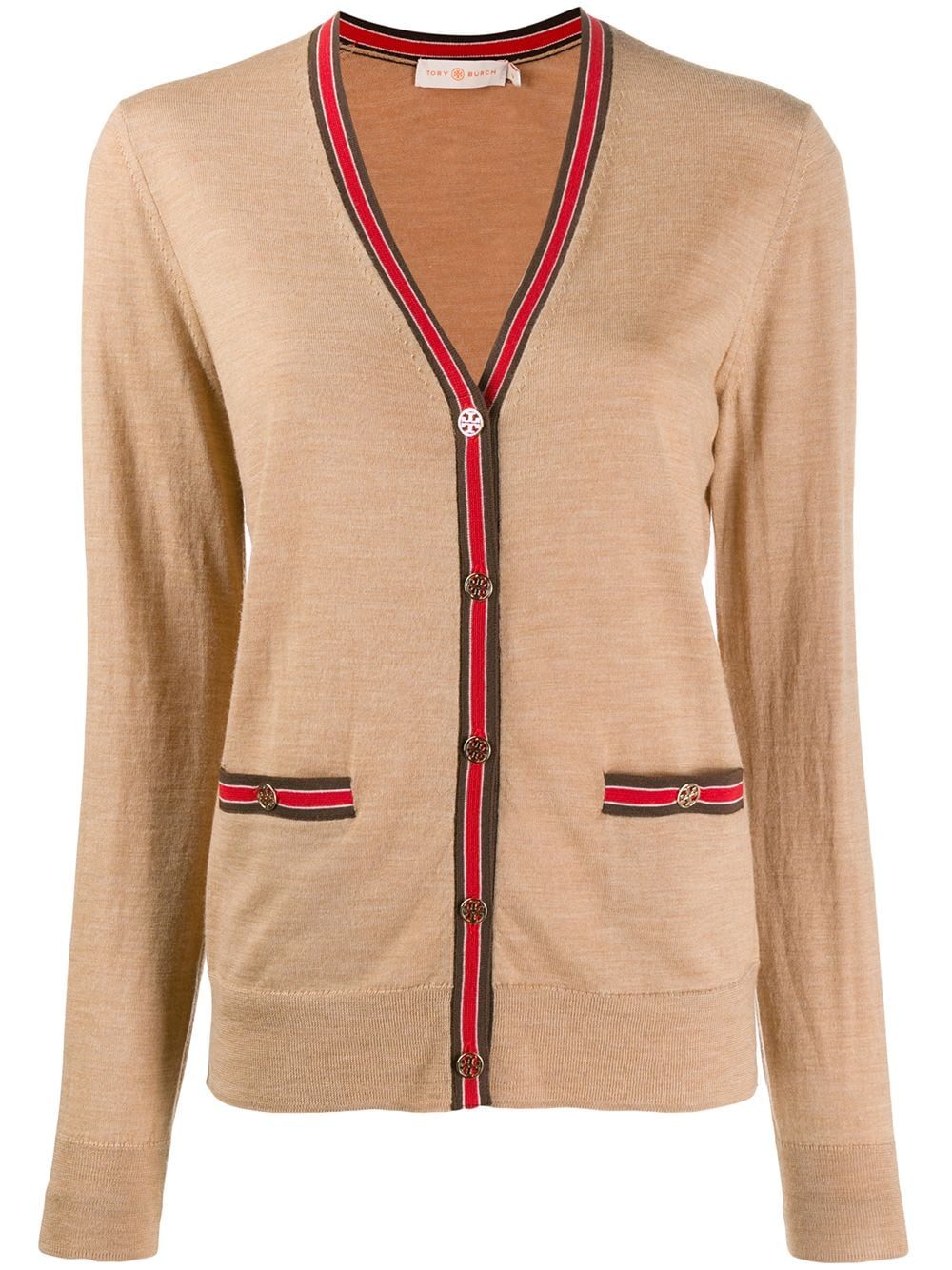 Picture of Tory Burch | Color-Block Madeline Cardigan