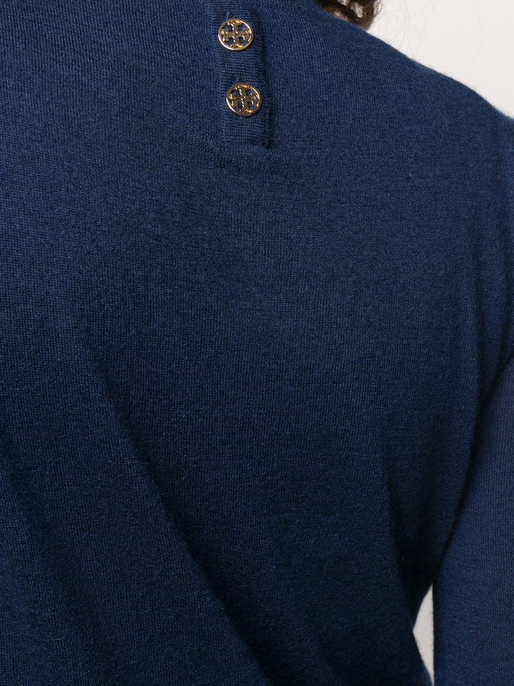 Picture of Tory Burch | Long Sleeve Iberia Pullover