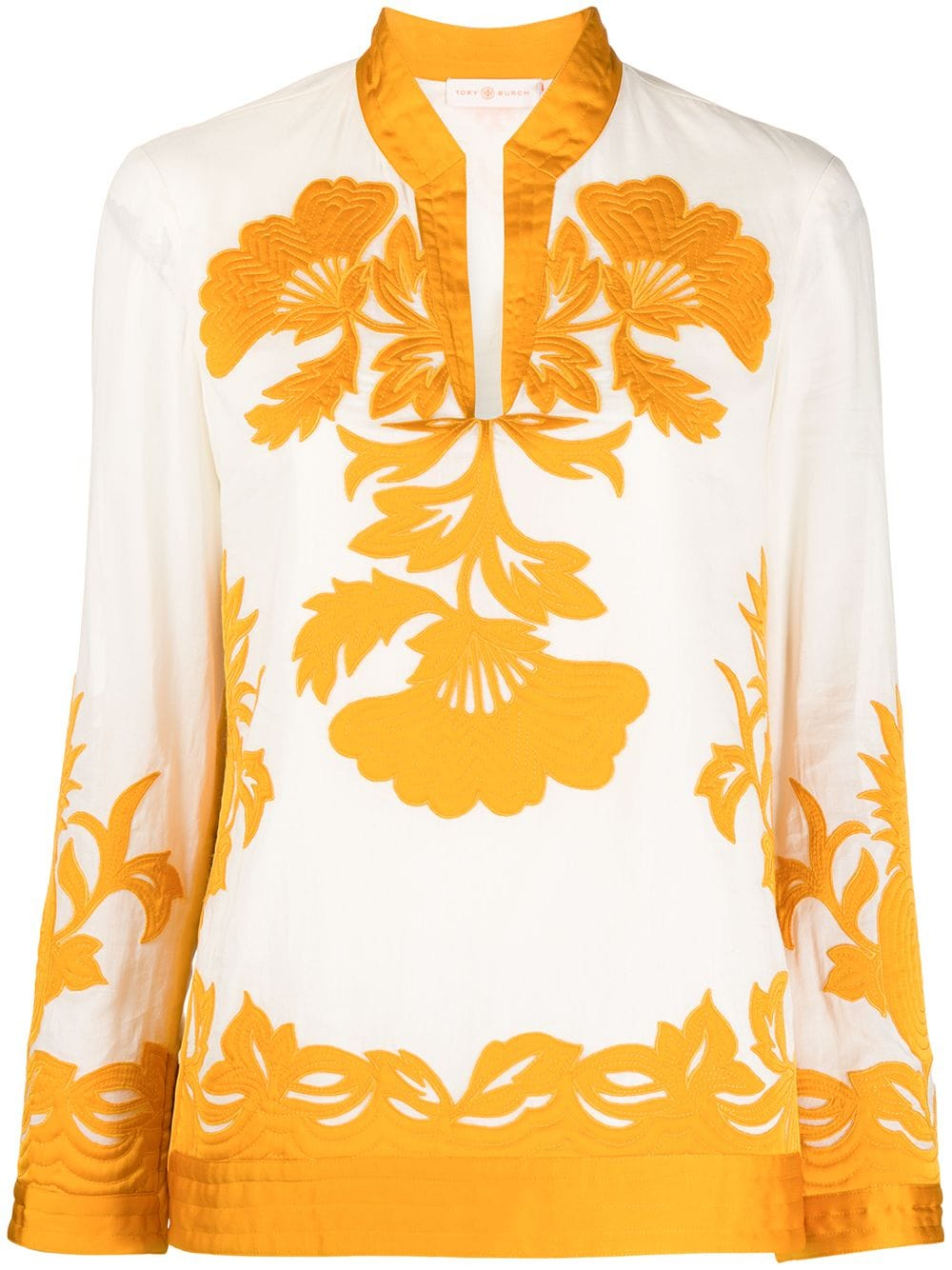Picture of Tory Burch   Appliqué Tunic
