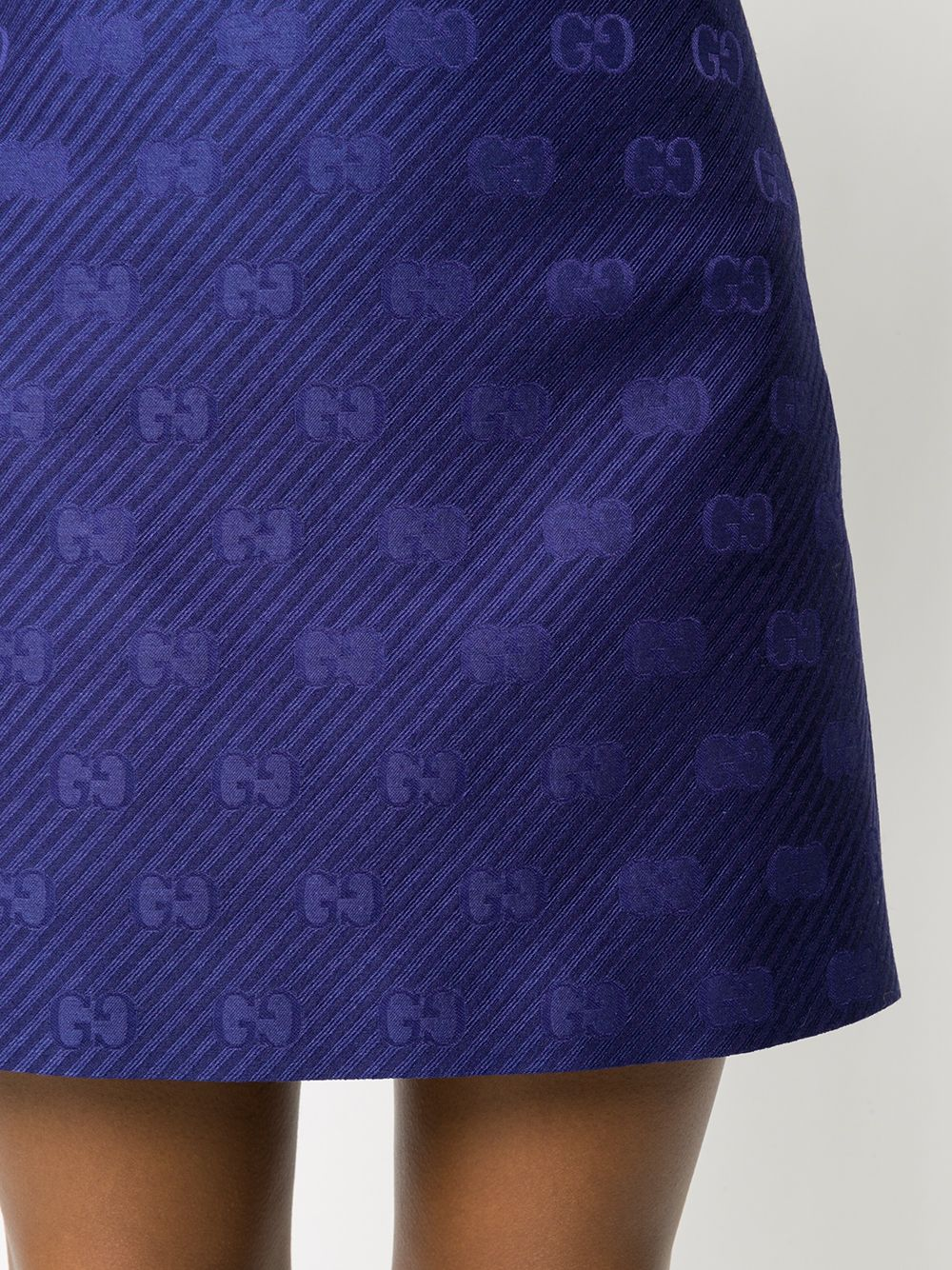 Picture of Gucci | Mini Skirt Gg Diagonal