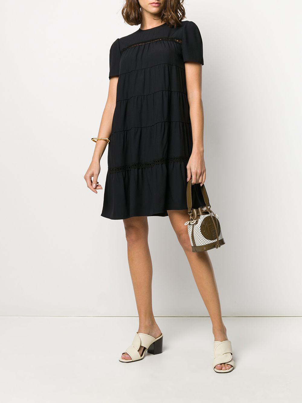 Immagine di Prada | Dress Sable`Raso+Pizzo