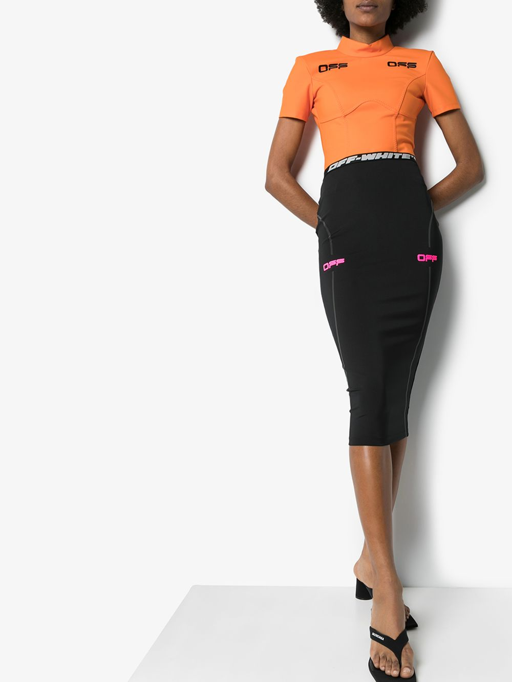 Picture of Off White | Active Pencil Skirt