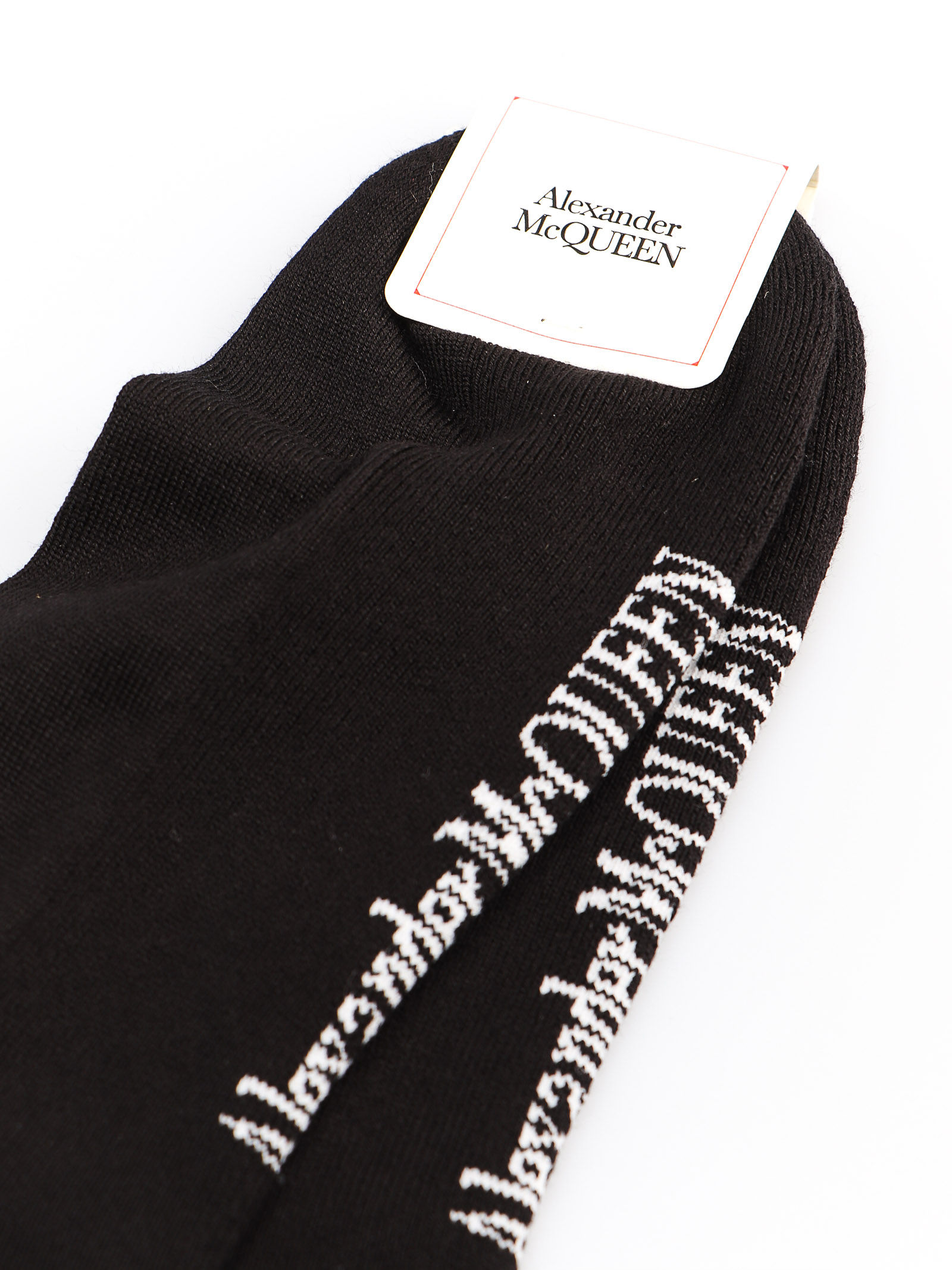 Picture of Alexander Mcqueen | Socks Long Branding