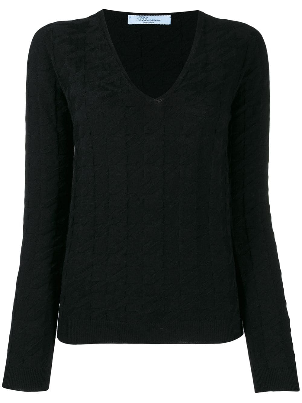 Picture of Blumarine | V Neck Sweater