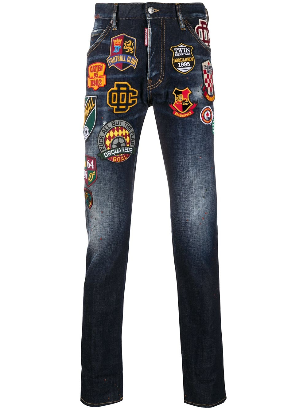 Immagine di Dsquared2 | Cool Guy Jean College Patch