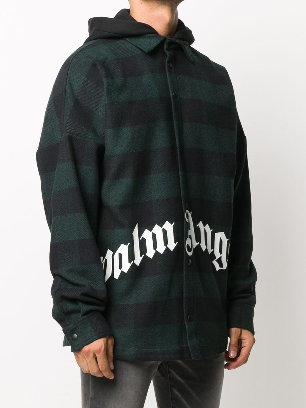 Immagine di Palm Angels | Hoody Logo Overshirt