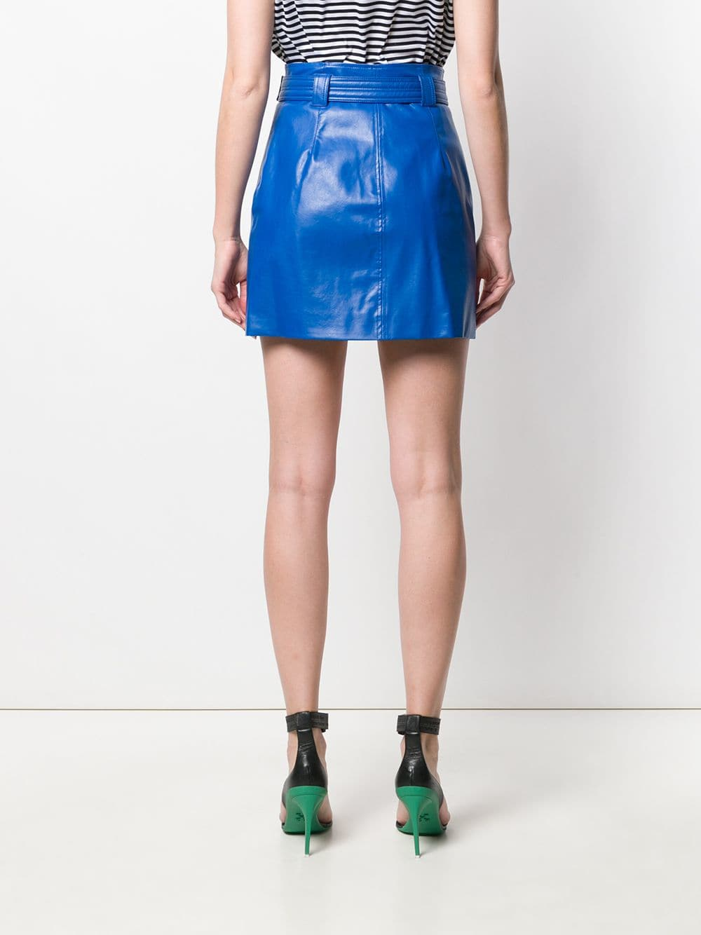 Picture of Pinko | Patrick Skirt Fake Leather