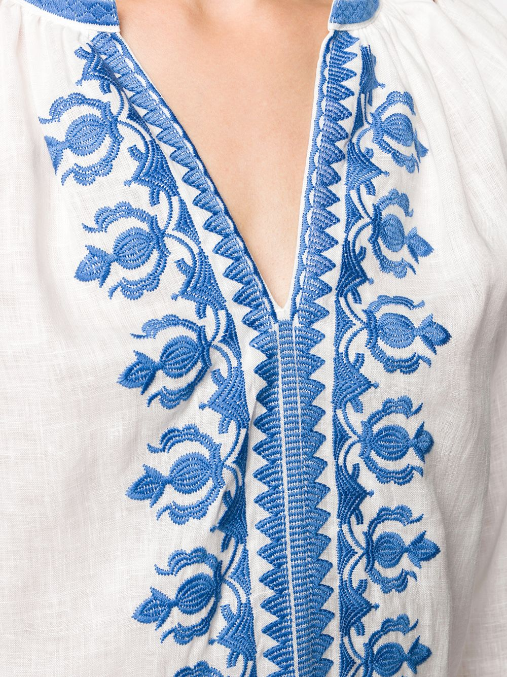 Immagine di Tory Burch | Embroidered Linen Dress
