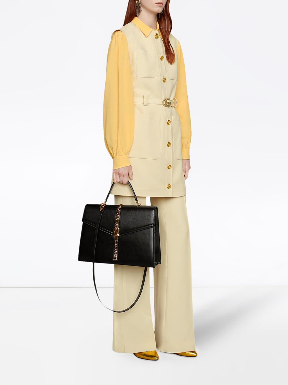 Picture of Gucci   70 Flare Pants