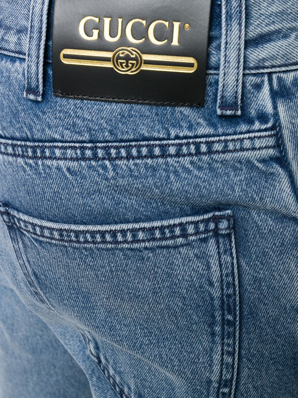 Picture of Gucci | Washed Denim Pant