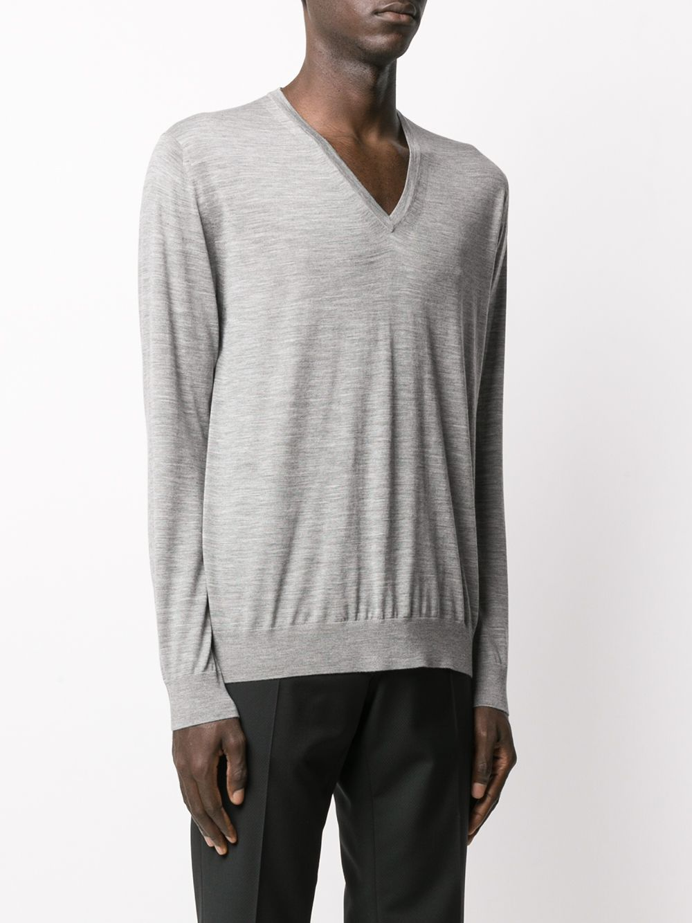 Picture of Prada | V Neck Wool Sweater