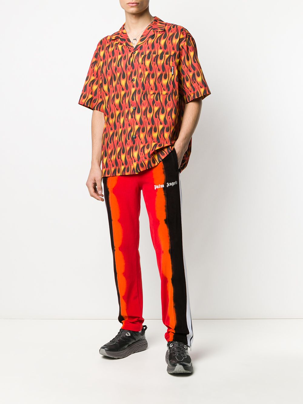 Picture of Palm Angels | Burning Bowling Shirt