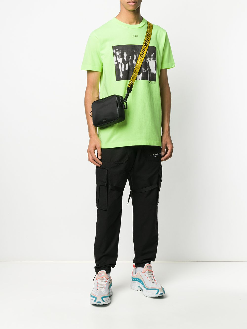 Picture of Off White | Spray Painting S/S Slim Tee