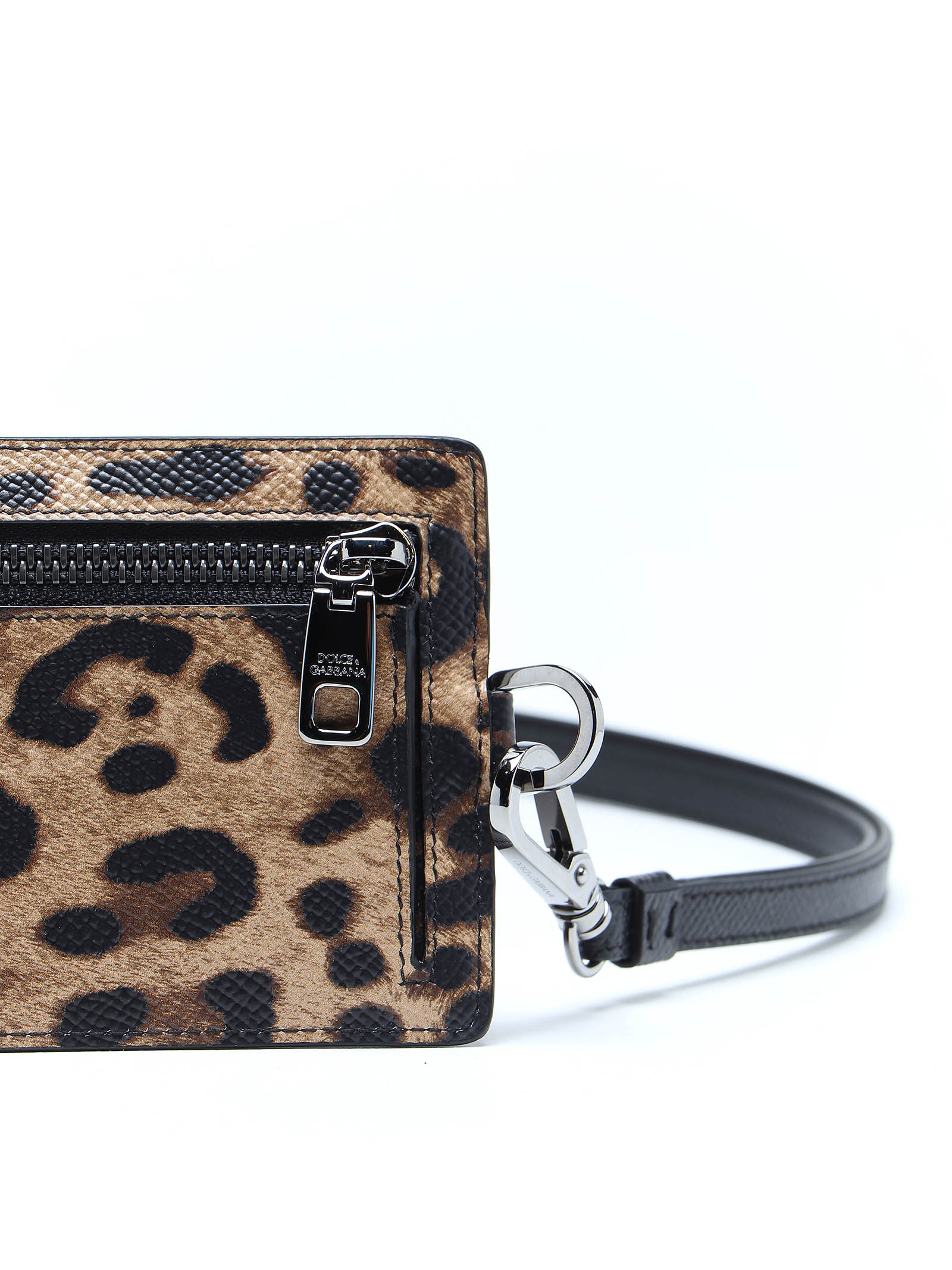 Picture of Dolce & Gabbana | Leopard Print Crossbody Bag