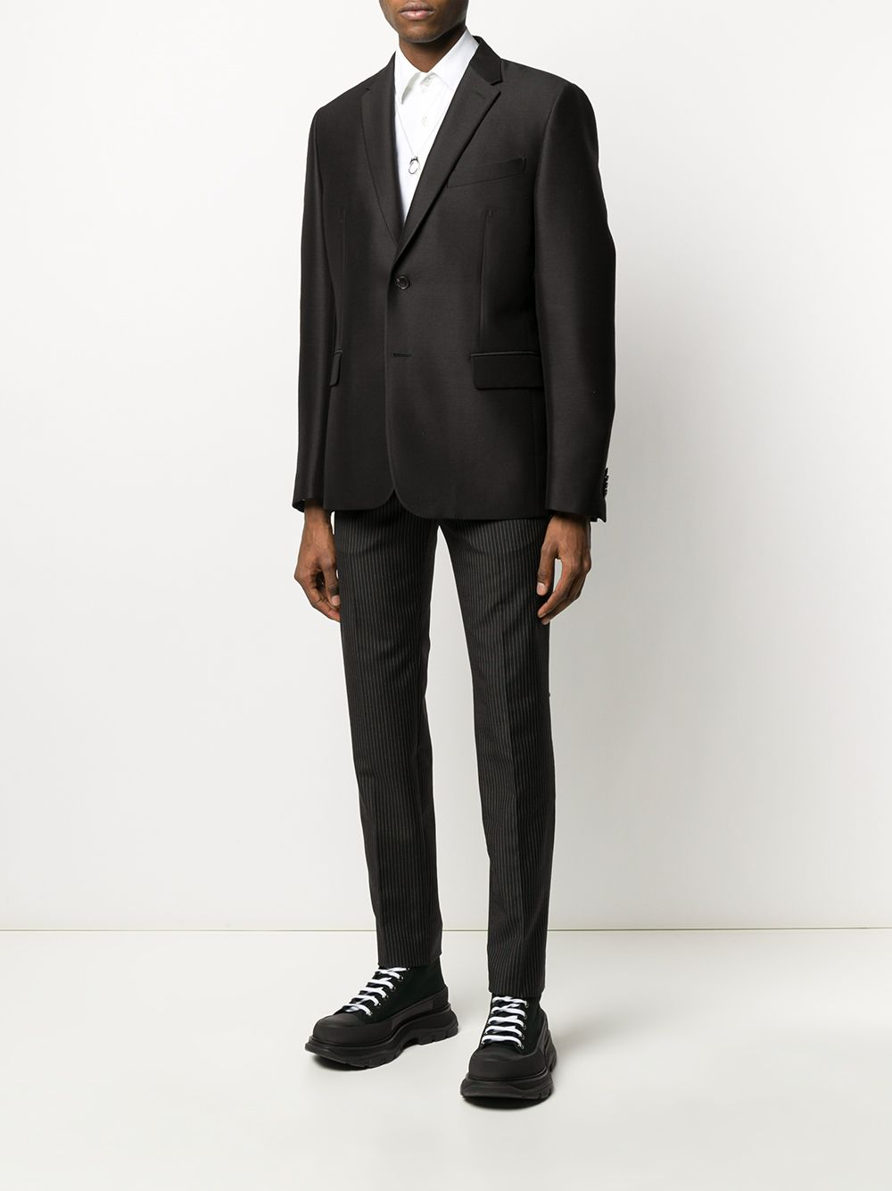 Picture of Alexander Mcqueen | Pinstripe Tailored Pants