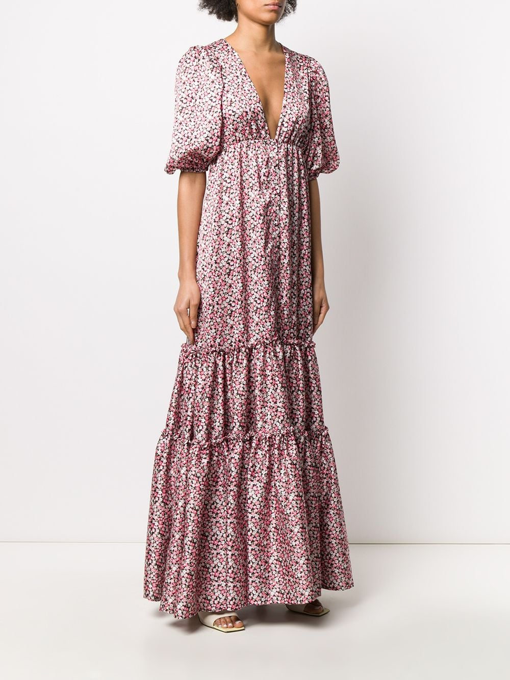 Immagine di Wandering | Printed Twill Dress