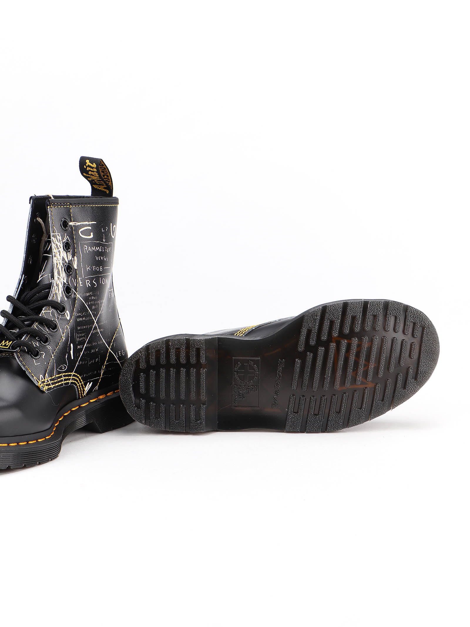Picture of Dr. Martens | 1460 Basquiat White Backhand Boot