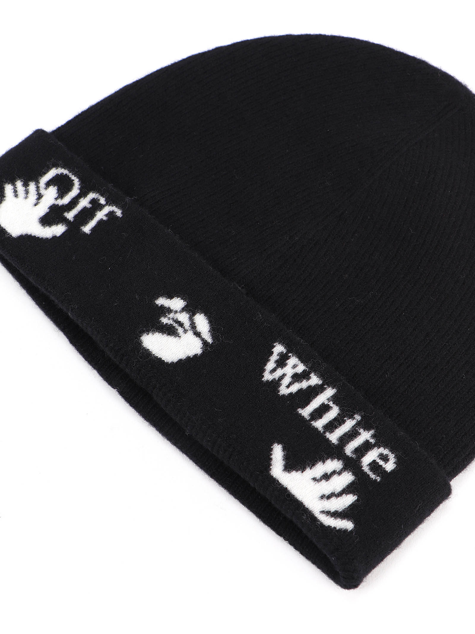Immagine di Off White | Felted Wool Beanie Hat