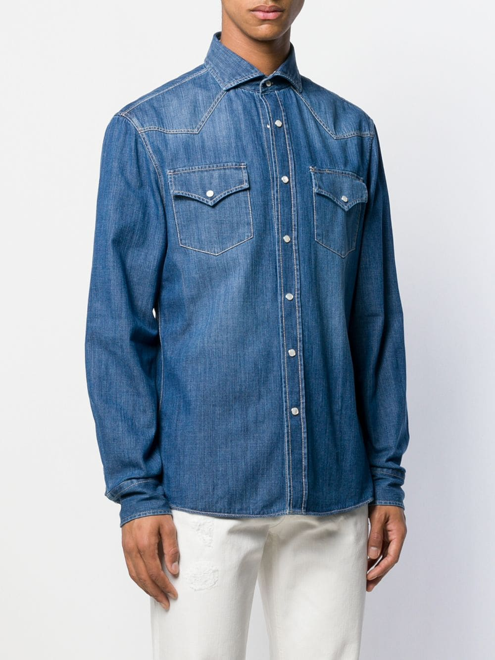 Immagine di Brunello Cucinelli | Denim Shirt