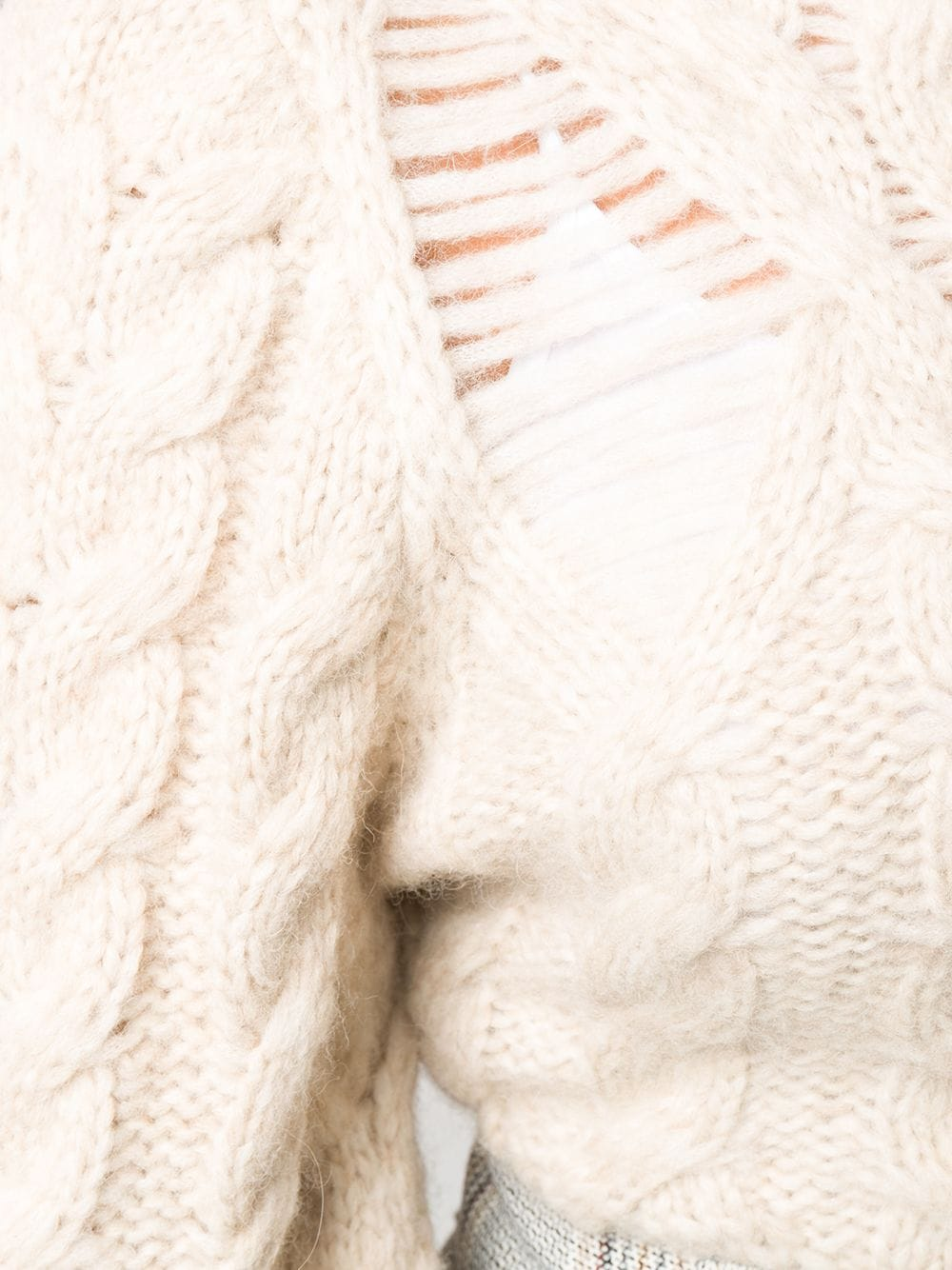 Immagine di Stella Mccartney | Destroyed Cable Jumper