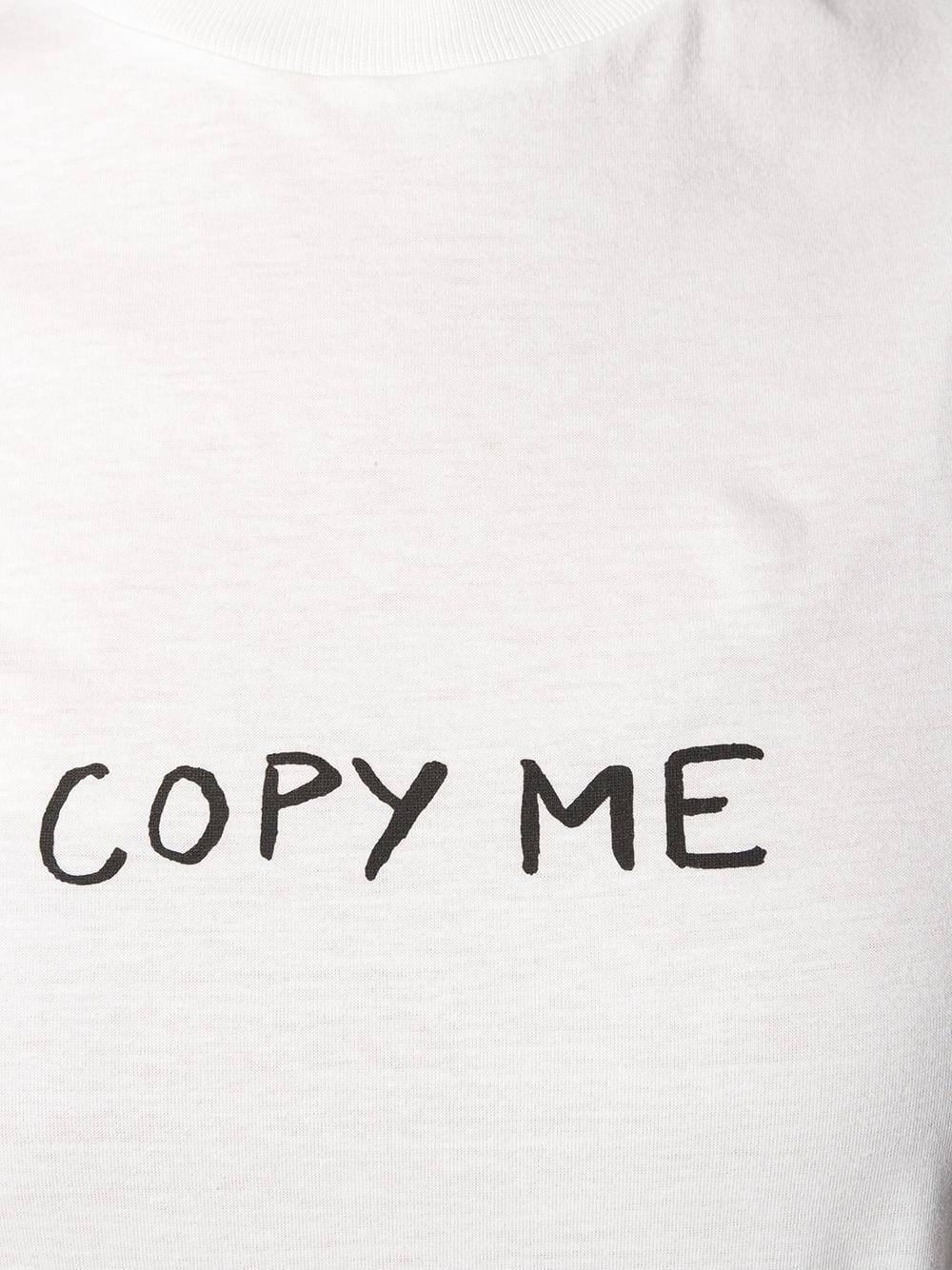 Immagine di Miu Miu | Jersey White Graphic T-Shirt