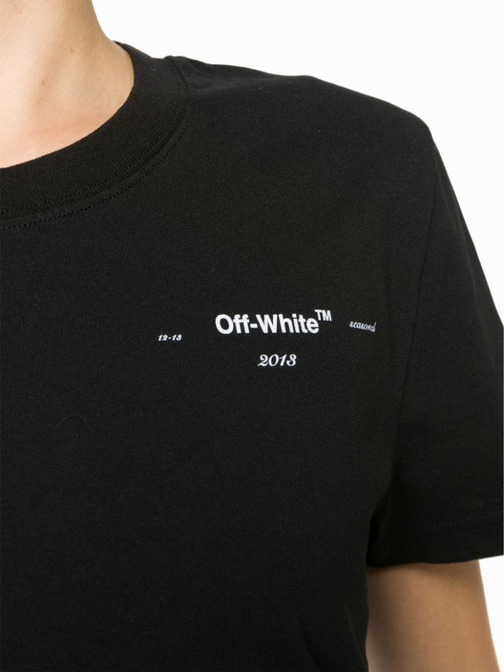 Picture of Off White | Corals Print Casual Tee