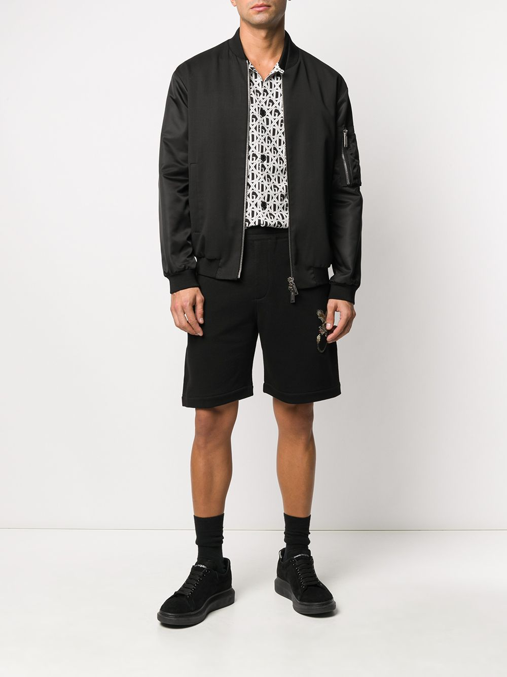 Picture of Alexander Mcqueen   Jogger Shorts