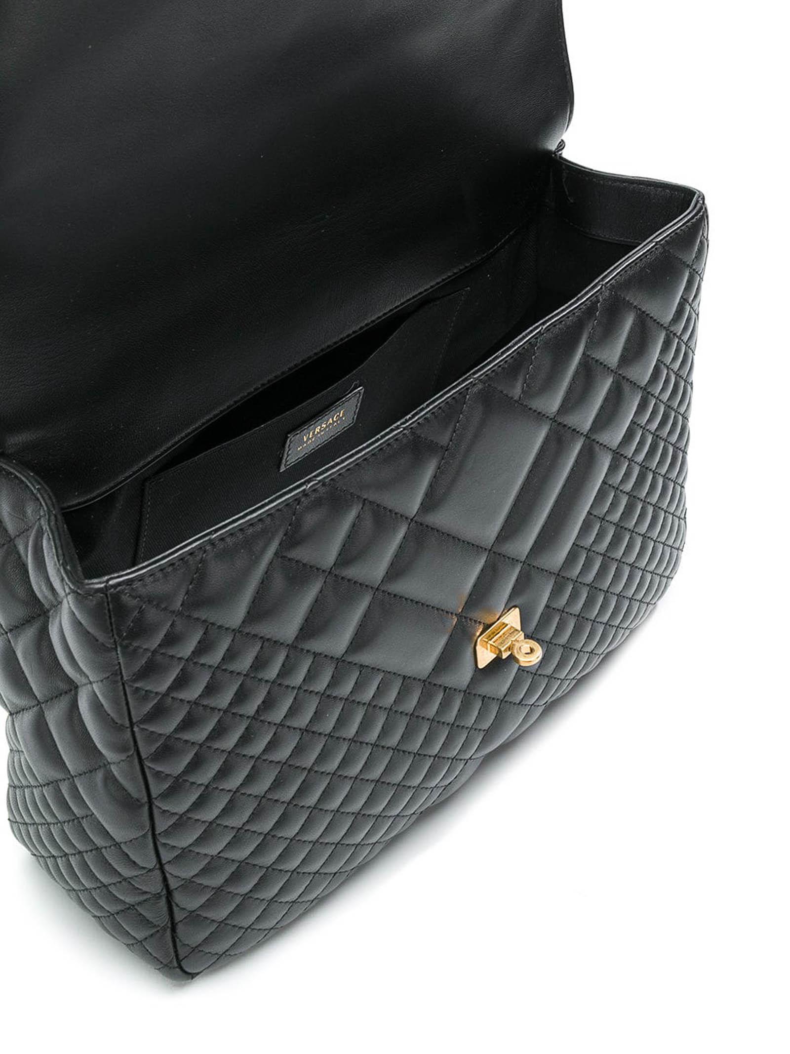 Picture of Versace | Lambskin Shoulder Bag