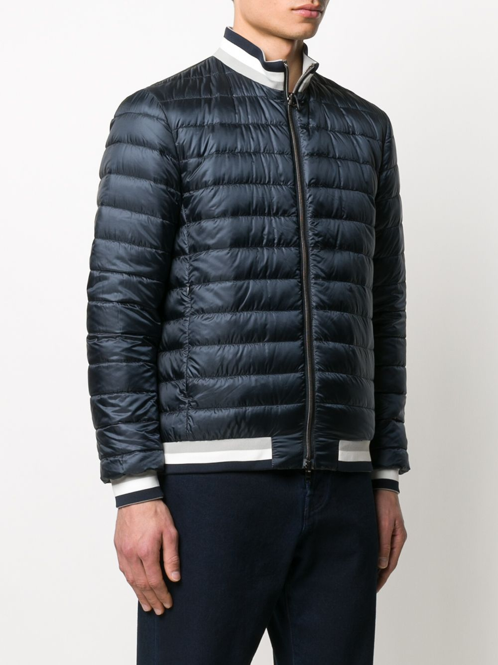 Picture of Herno   Padded Jacket Bicolor