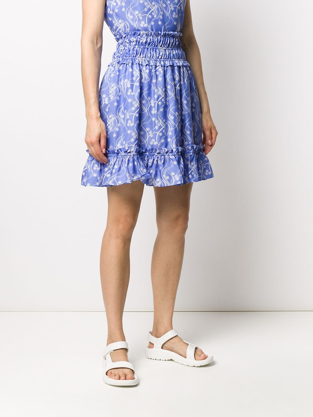 Picture of Kenzo | Soft Short Skirt