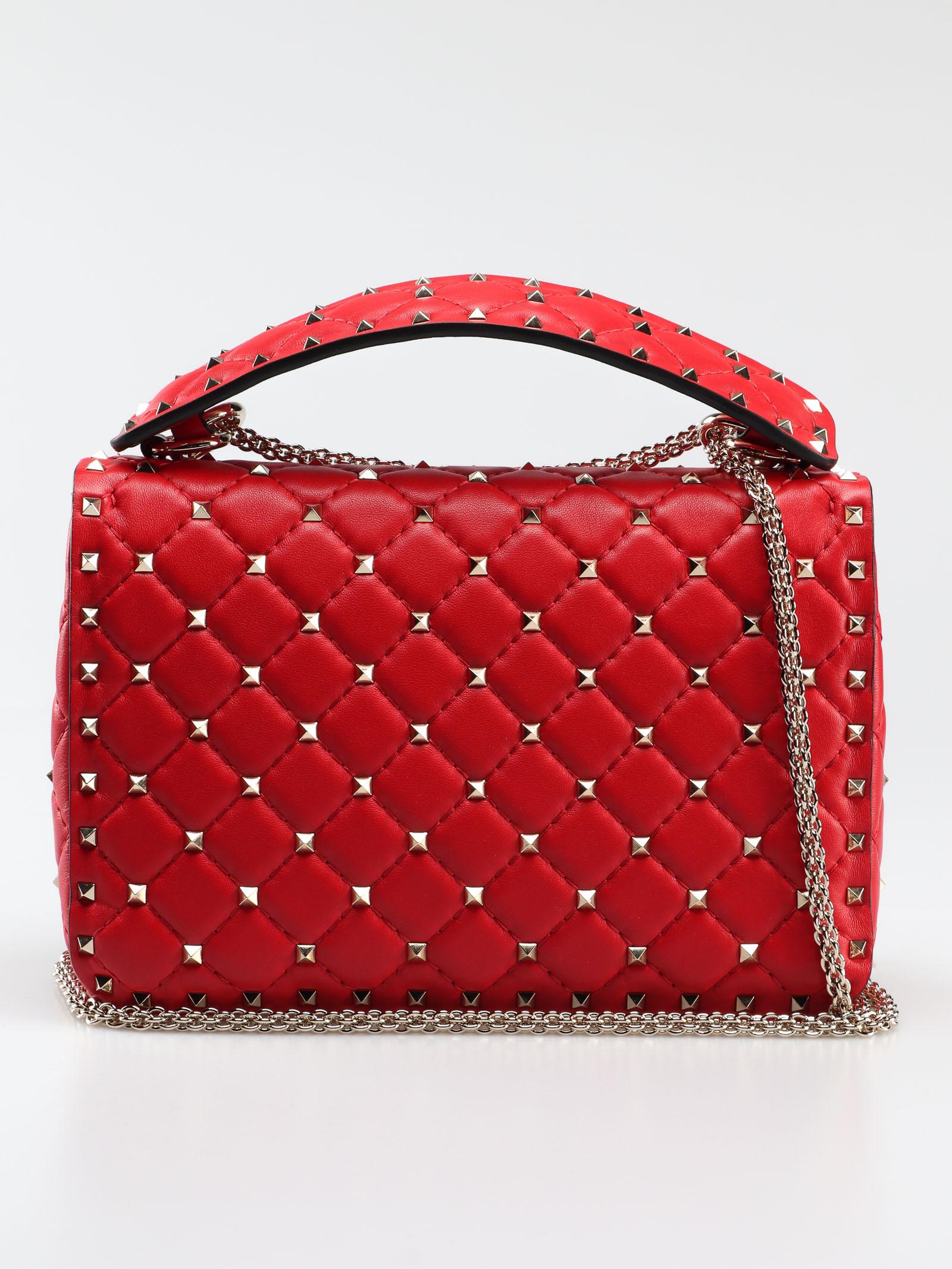 Picture of Valentino Garavani   Rockstud Spike Md Shoulder Bag