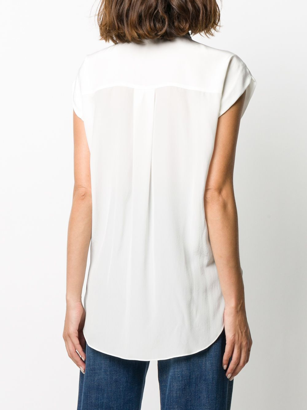 Picture of Brunello Cucinelli | Sleeveless V Top