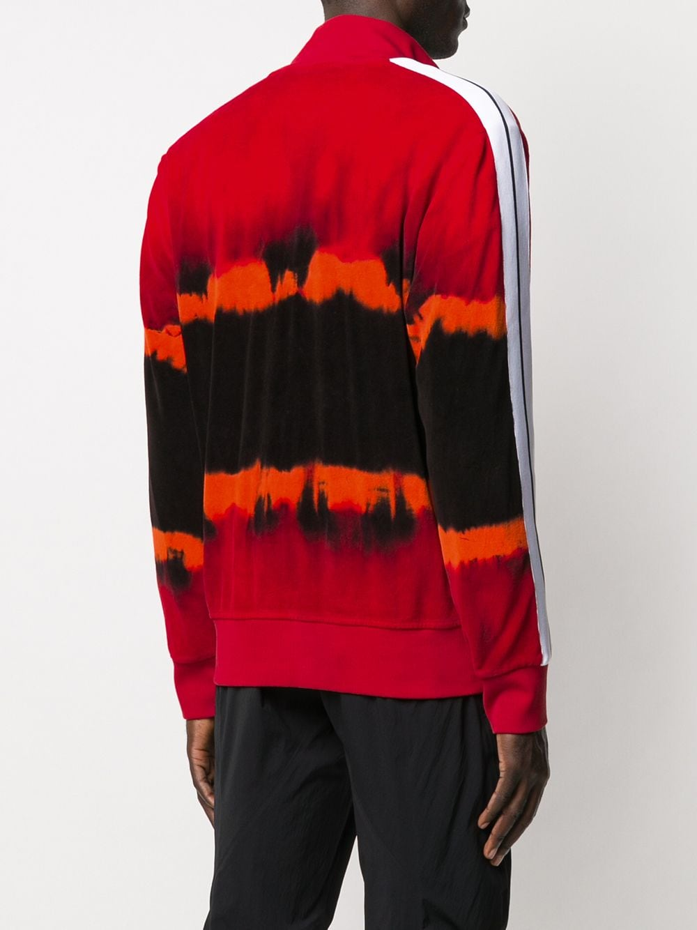 Picture of Palm Angels   Tie Dye Chenille Track Jkt
