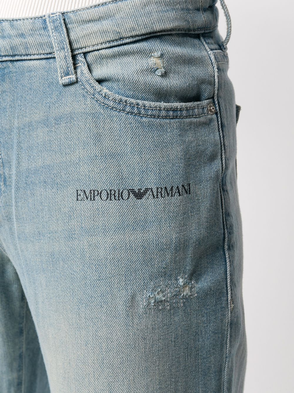 Picture of Emporio Armani | 5 Pockets Pant