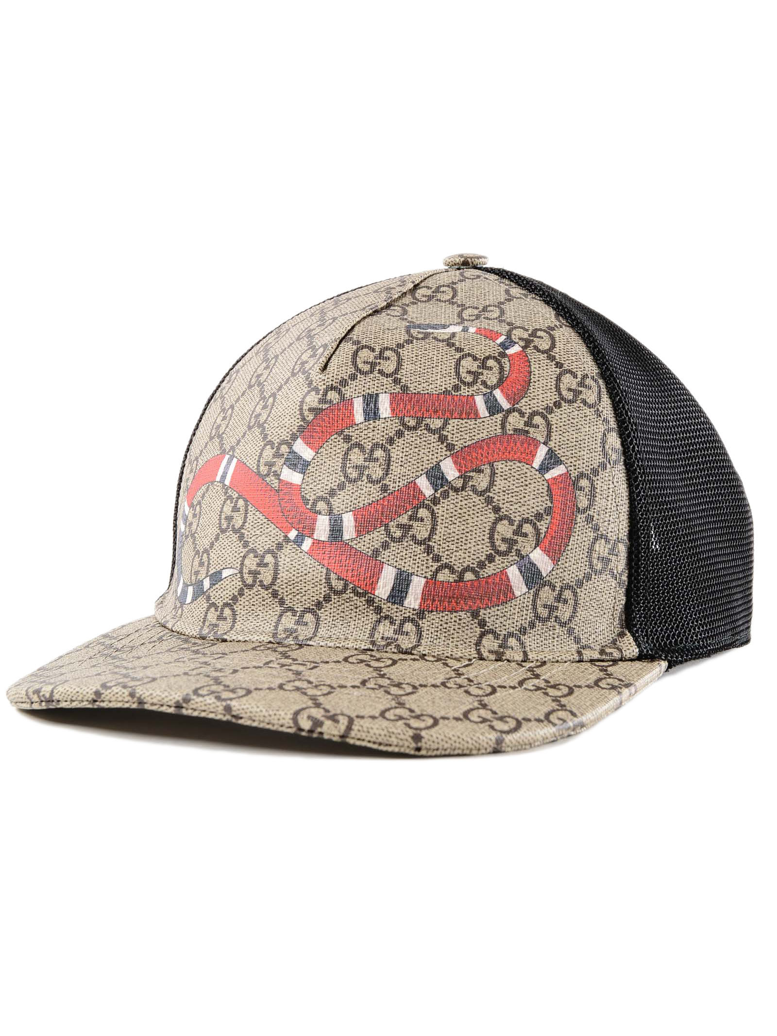 Picture of Gucci | Hat Kingsnake Print Gg