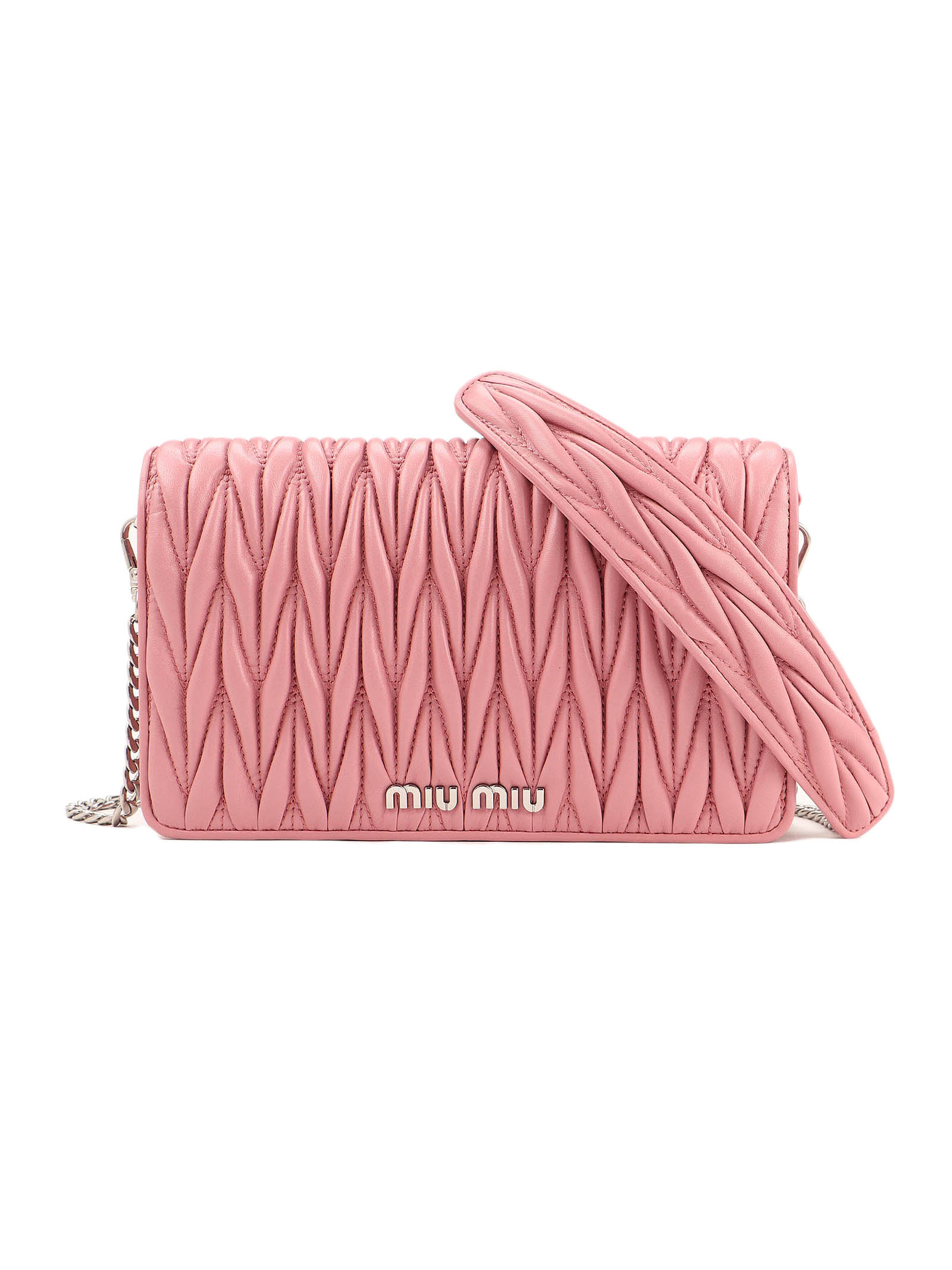 Picture of Miu Miu | Miu DÉLice Leather Bag