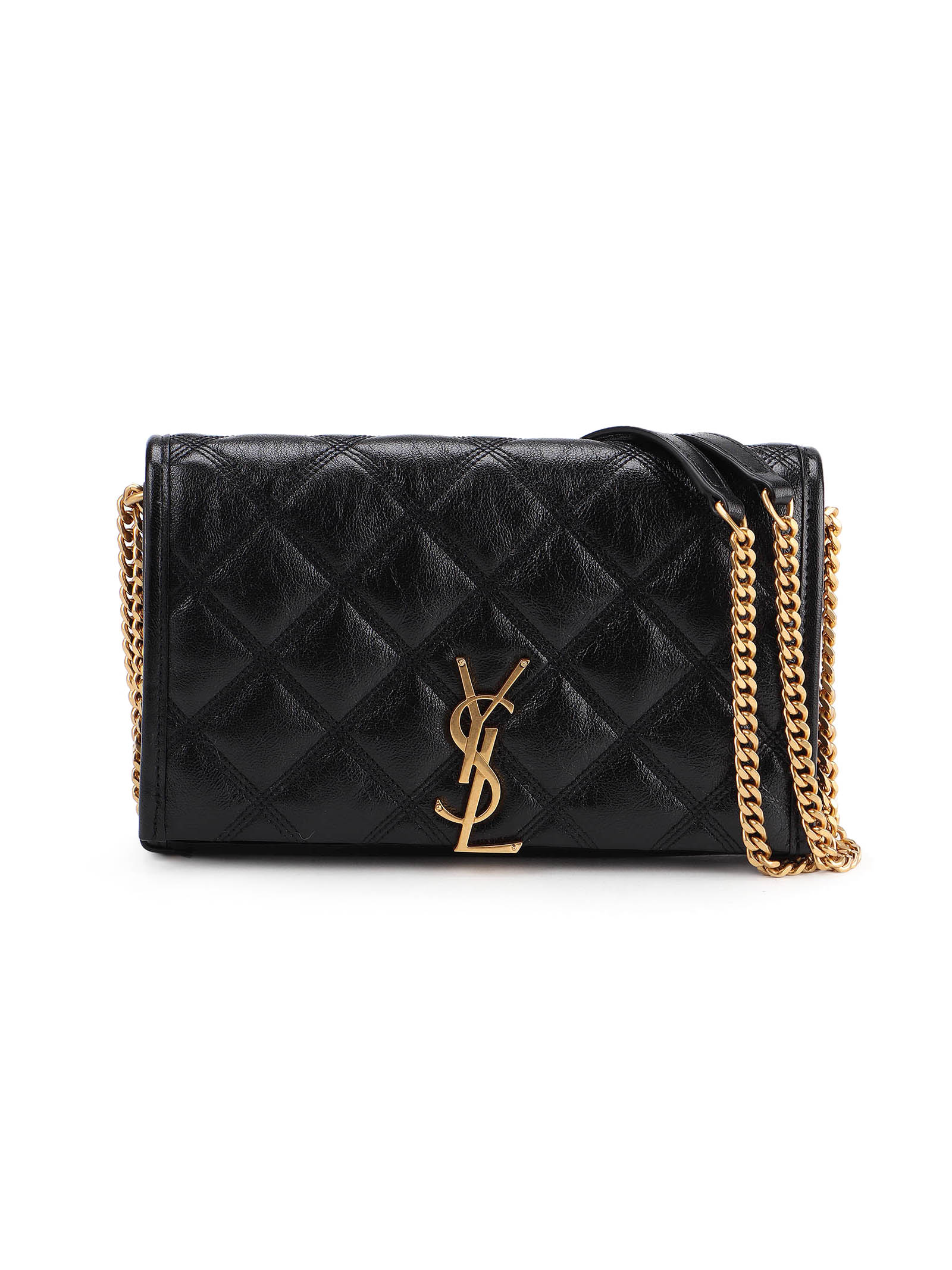 Picture of Saint Laurent | Ysl Becky Chain Wallet