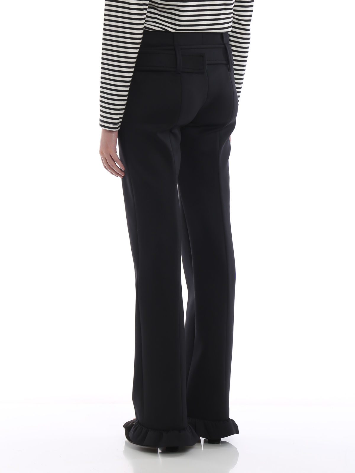Picture of Prada | Trousers Tecno Jersey
