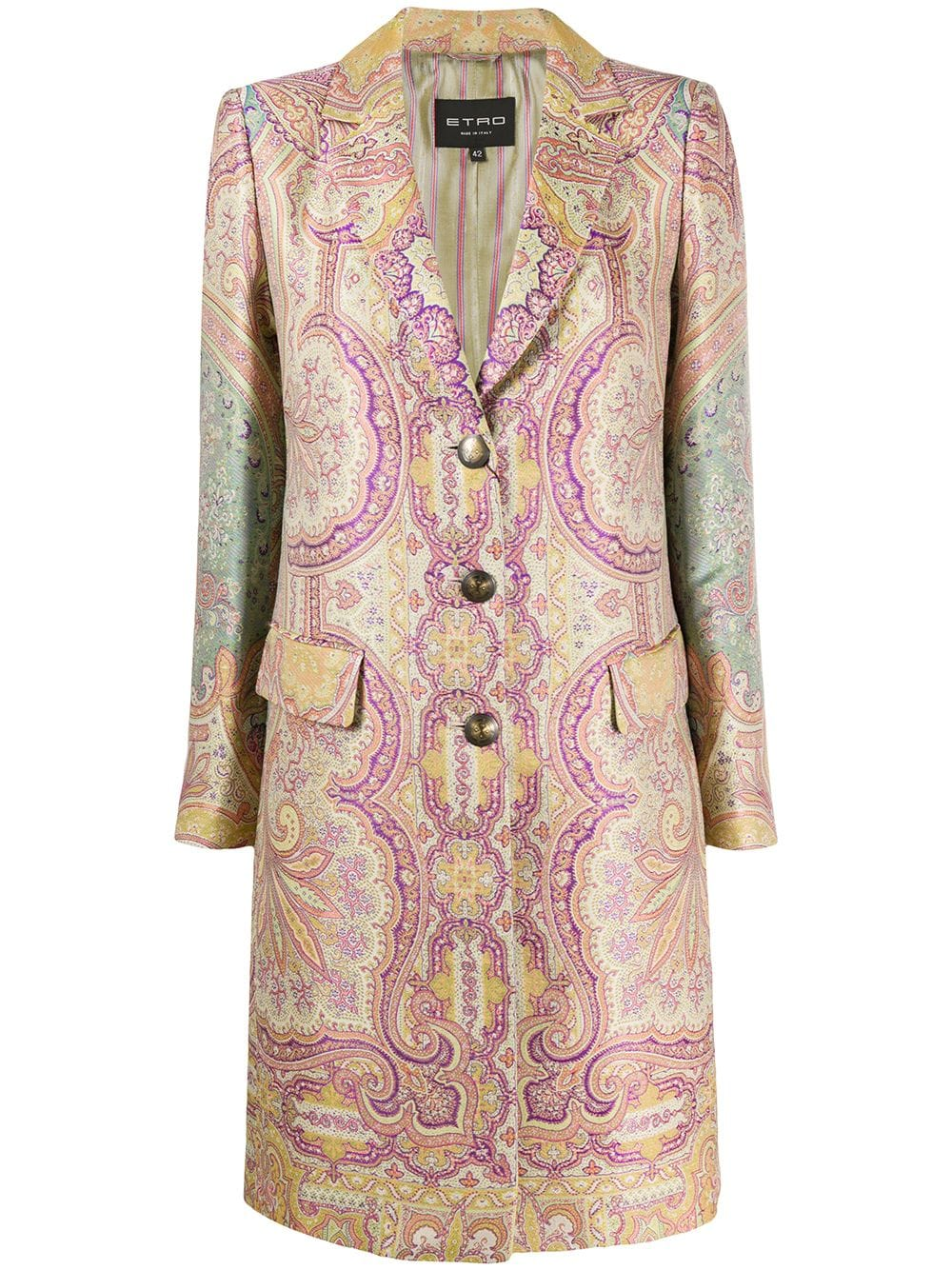 Picture of Etro | Coat Aloe
