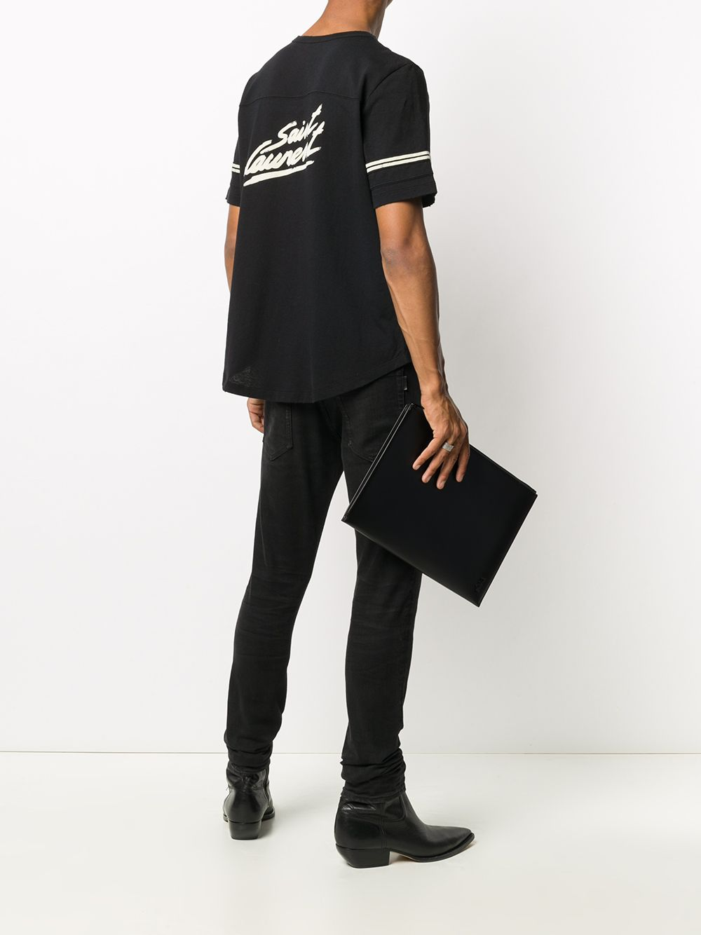 Immagine di Saint Laurent | T-Shirt Decoupe