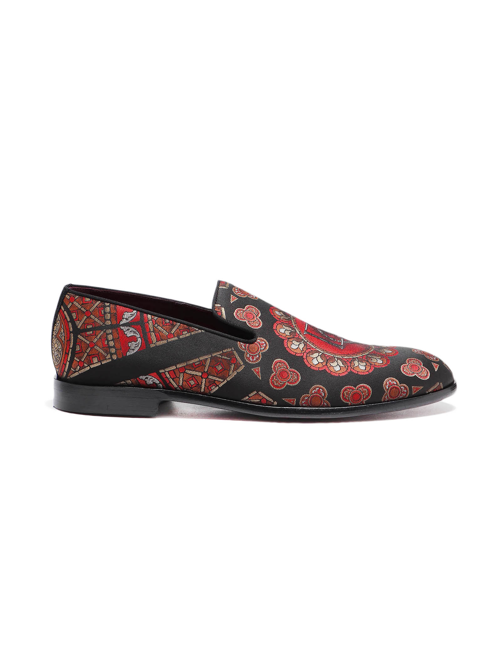 Picture of Dolce & Gabbana | Milano Jaquard Slippers
